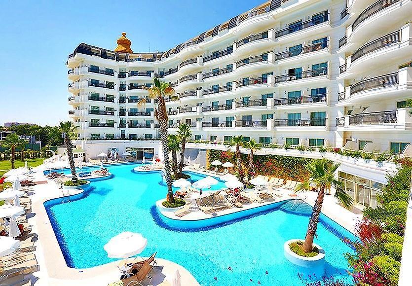 Heaven Beach Resort Spa. Türkiyede Tatil, Side - 5 yıldızlı oteller